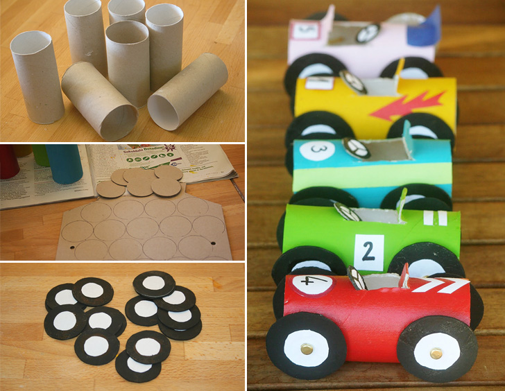 345toilet-paper-roll-race-cars-collage